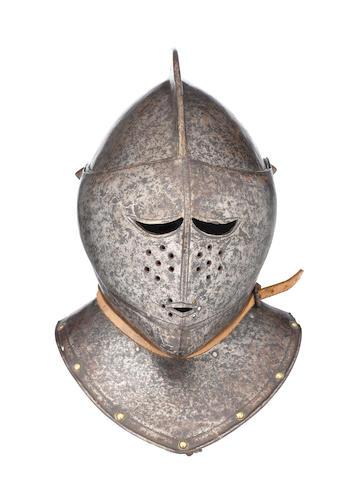 A North Italian Close-Helmet Of So-Called 'Savoyard' Type