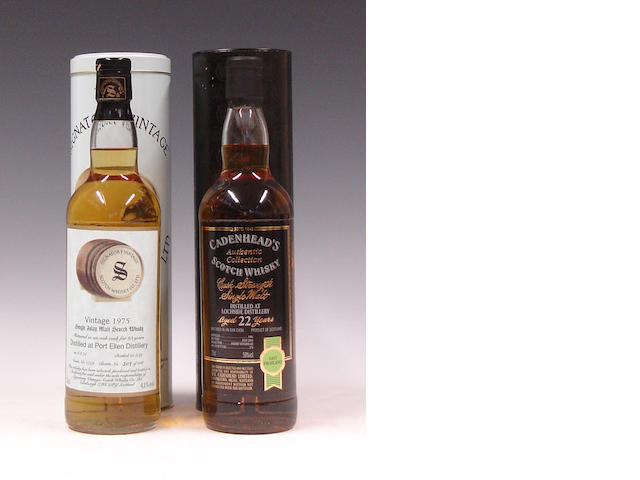 Port Ellen-23 year old-1975Lochside-22 year old-1981