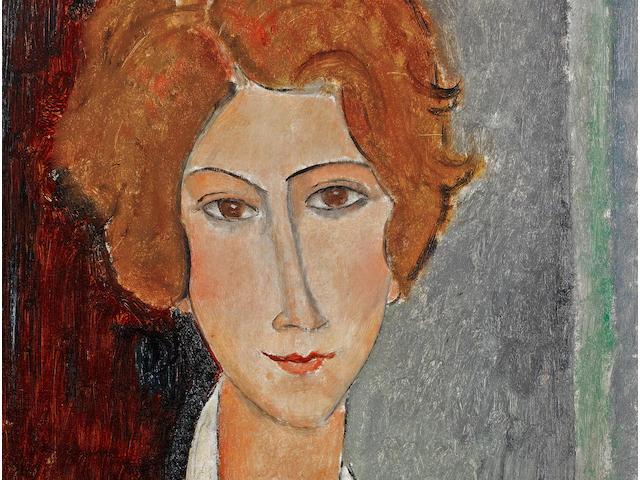 Amedeo Modigliani (1884-1920) Portrait de femme
