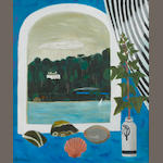 Mary Fedden R.A. (British, born 1915) By the River 61 x 51 cm. (24 x 20 in.)