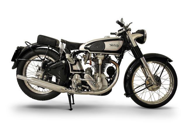 1950 Norton 500cc International  Frame no. F1135407 Engine no. F1135407