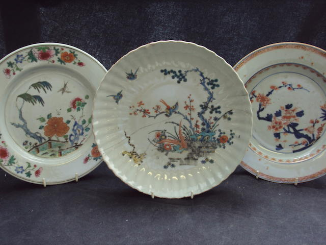 A collection of Chinese plates