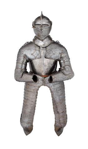 A Composite Cuirassier Three-Quarter Armour