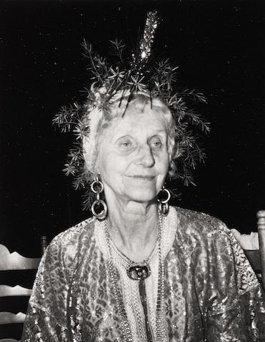 Robert Mapplethorpe (American, 1946-1989) Pamela, Lady Glenconner, Mustique, 1976 Paper 35.5 x 27.7cm, image 13.2 x 10.2cm