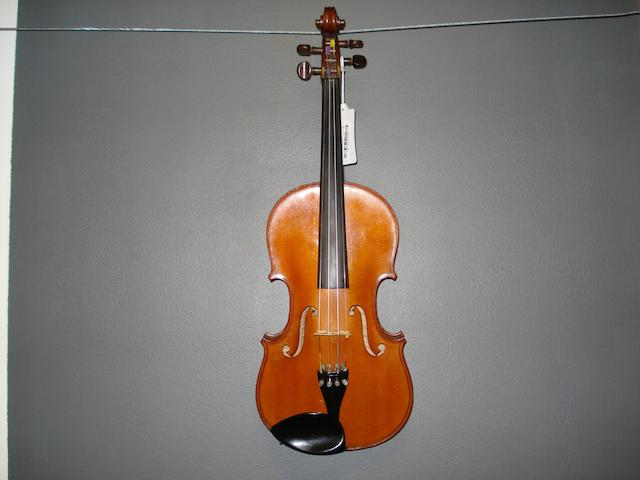 A French Violin by Francois Barzoni 1906 (3)