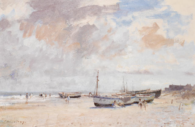 Edward Seago R.W.S. (British, 1910-1974) The Beach at Kessingland 51 x 76 cm. (20 x 30 in.)