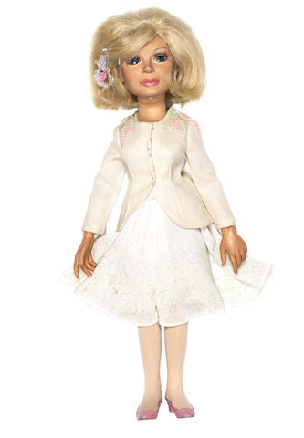 Thunderbirds: a Lady Penelope puppet,