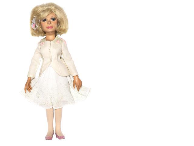 Thunderbirds: a Lady Penelope puppet,