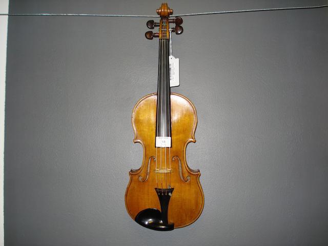A Violin of the French School circa 1900 (4)