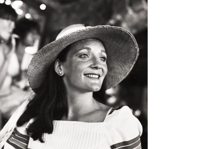 Robert Mapplethorpe (American, 1946-1989) Lady Lichfield, Mustique, 1976 Paper 35.6 x 27.8cm, image 18.7 x 18.4cm