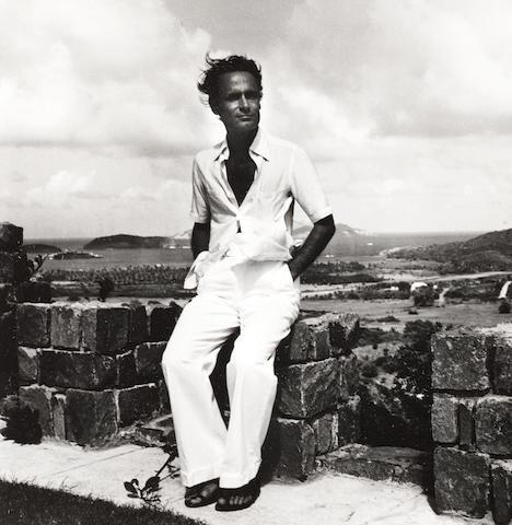 Robert Mapplethorpe (American, 1946-1989) John Stephanides, Fort Shandy, Mustique, 1976 Paper 35.6 x 27.8cm, image 18.3 x 18cm