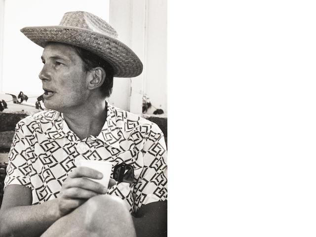 Robert Mapplethorpe (American, 1946-1989) Paul Channon, Baron Kelvedon, Mustique, 1976 Paper 35.5 x 27.8cm, image 14 x 9.8cm