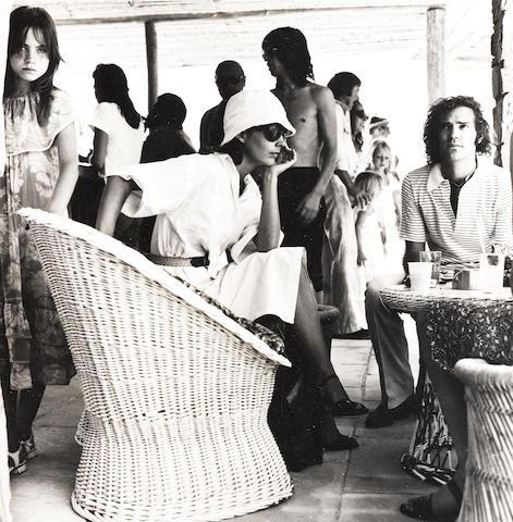 Robert Mapplethorpe (American, 1946-1989) Guests, Mustique, 1976 Paper 35.6 x 27.8cm, image 13.8 x 13.5cm