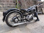 c.1937 BMW 494cc R5 Frame no. 502179 Engine no. 504054