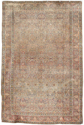 A Kashan Mohtashan carpet