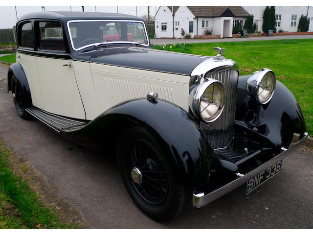1935 Bentley 3½-Litre Sports Saloon  Chassis no. B197DK