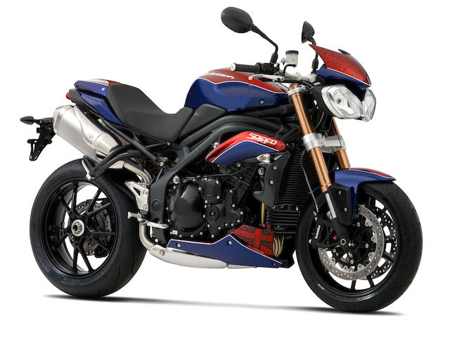 2011 Triumph 1050cc Speed Triple