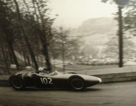 Tony Marsh BRM Special at Prescott 1962