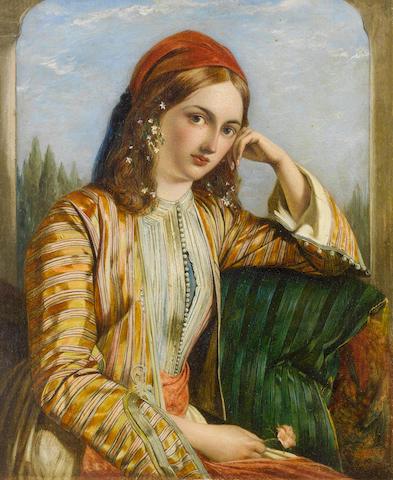 Henry Nelson O'Neil, ARA (British, 1817-1880) The Sultana