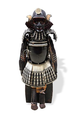 A Japanese suit of Armour Edo period, 18th century