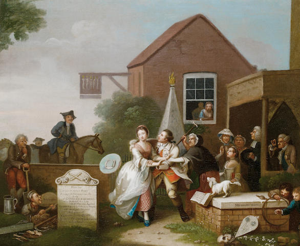 John Collet (London circa 1725-1780) The Bold Attempt; and The Rake's Party (2)