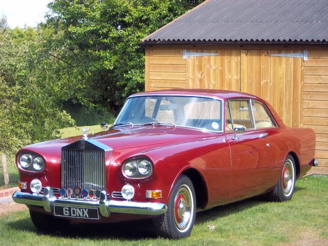 Formerly the property of Phil Manzanera, the ex-Paris Motor Show,1965 Rolls-Royce Silver Cloud III Coupé  Chassis no. CSC87B Engine no. B43CS