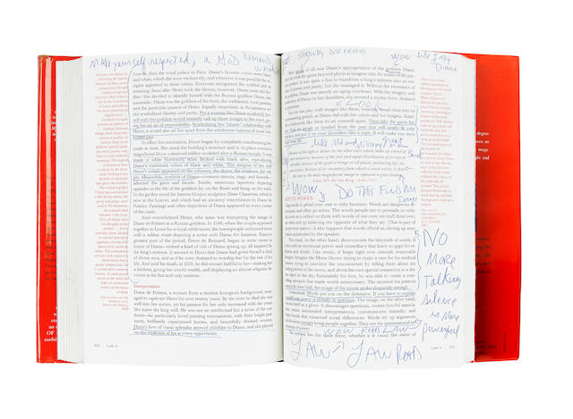 Michael Jackson: an annotated copy of the book 'The 48 Laws Of Power' by Robert Greene,