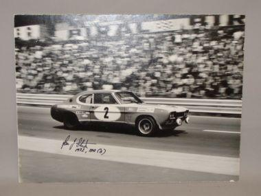 A signed photograph of the 1972 Spa 24 Hours