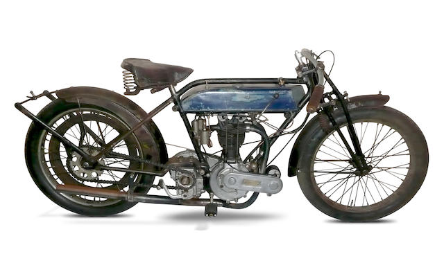 1924 Triumph 3½hp Model R 'Ricardo' Racer Frame no. 339975 Engine no. 91950 HRI