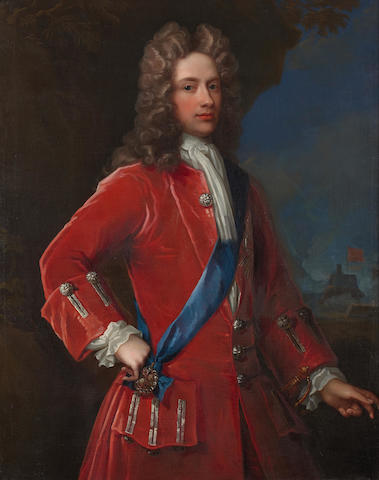 William Aikman (British, 1682-1731) John, 2nd Duke of Argyll and Duke of Greenwich (1680-1743) 120.6 x 96.4 cm. (47 1/2 x 37 15/16 in.)