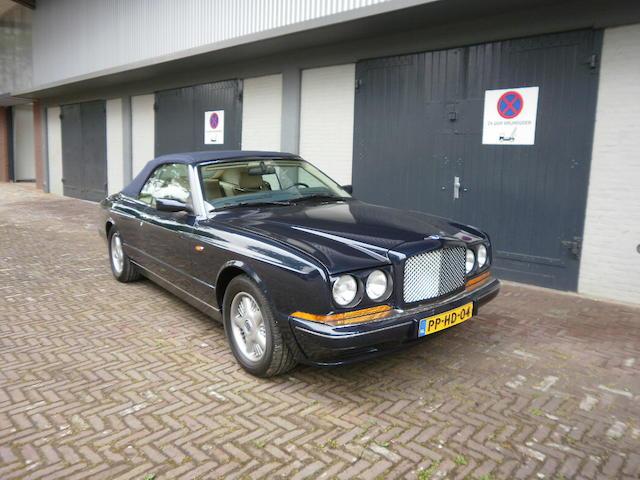 1996 Bentley Azure Convertible  Chassis no. SCBZK15CXVCX61024