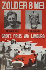 A Grand Prix de Bruxelles poster, 9 April 1961,
