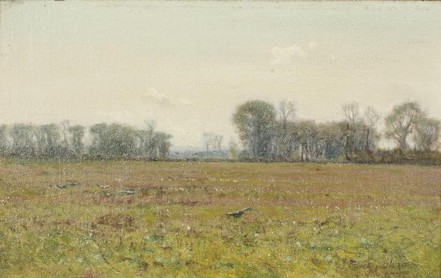 John Sanderson Sanderson-Wells, RI (British, 1872-1955) Spring