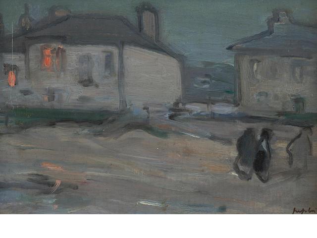 """Samuel John Peploe, RSA (British, 1871-1935) """"North Berwick"""""""