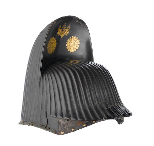 An Unusual Kabuto In The Form Of A Court Cap