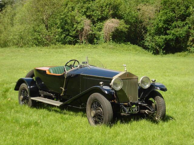 1926 Rolls-Royce 40/50hp Phantom I Skiff  Chassis no. 39YC Engine no. US55