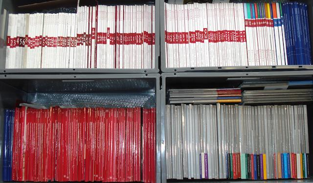 A good quantity of motoring auction catalogues,