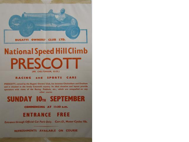 Prescott National Speed Hill Climb posters