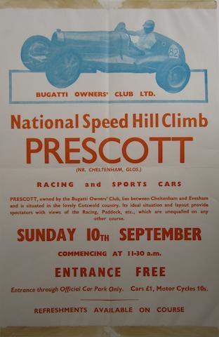 Prescott National Speed Hill Climb posters