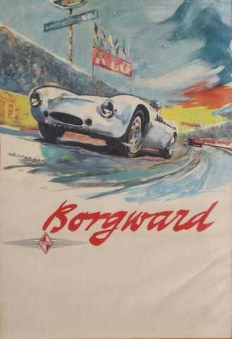 A Borgward H 1500 RS Spyder poster,