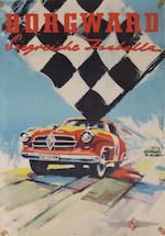 A Borgward H 1500 RS Spyder poster