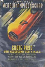 An Autoraces Zandvoort om de Grote Prijs van Nederland poster