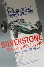 A Silverstone International Trophy meeting poster