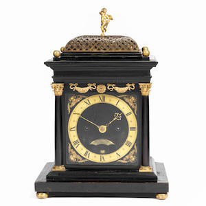 A recently discovered, historically important English bracket clock attributable to the workshop of Ahasuerus Fromanteel