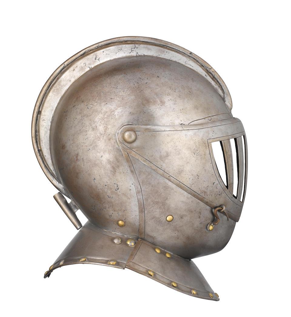 A Cuirassier Three-Quarter Armour