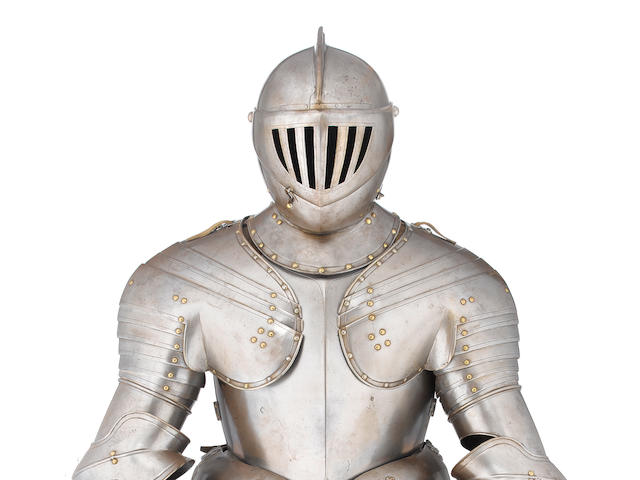 A Cuirassier Three-Quarter Armour