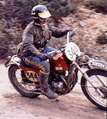 The ex-Jim Sandiford, ISDT,1970 Cheney Triumph 504cc Tiger 100C Frame no. MK2 102 Engine no. JD24845 T100C Jim Sandiford