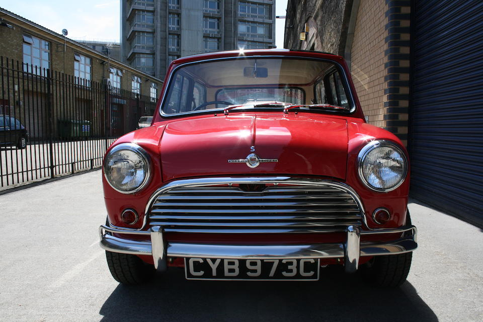 1964 Morris Mini Cooper 970S Mk1 Saloon  Chassis no. H-A2S4/550825 Engine no. 9FSAX29803