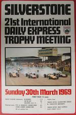 A Silverstone Daily Express Trophy meeting poster