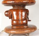A Bamun stool Cameroon 50cm diameter
